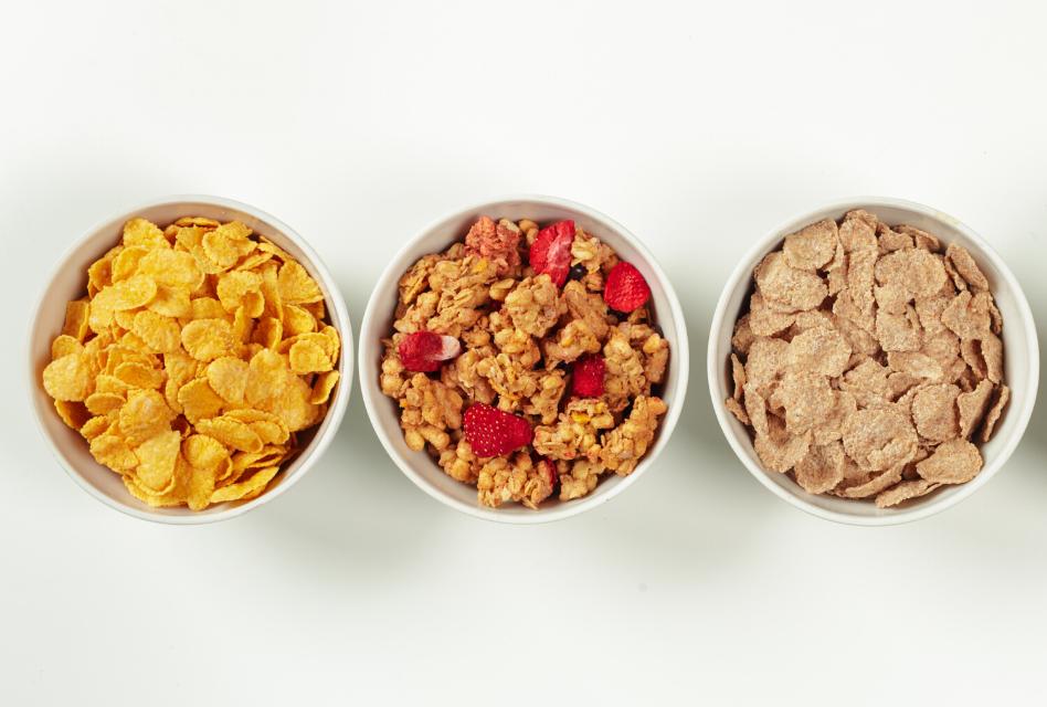 cereales lista de la compra durante el coronavirus
