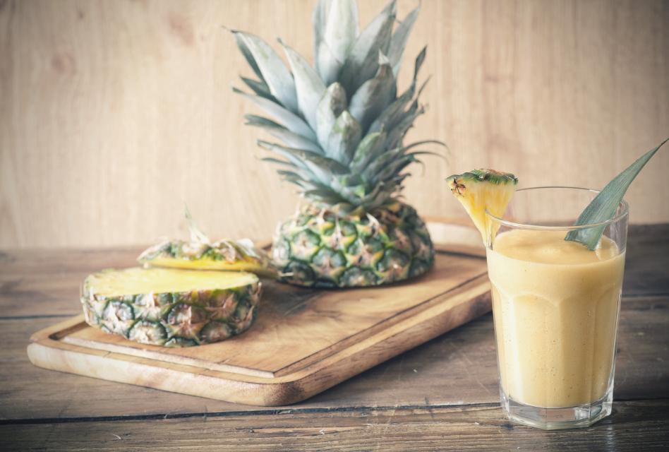 Batido amarillo dieta detox en dietas a tu medid